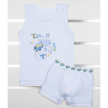 Комплект майка и трусы 104 размера для мальчика 4-5 годиков