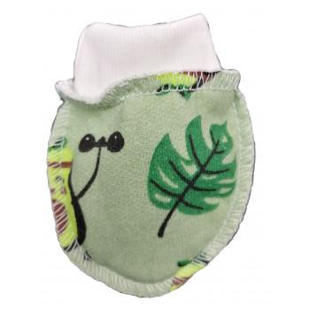 Байковые антицарапки Авокадо для новорожденных