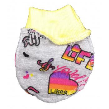 Царапки теплые новорожденным девочкам Лайки