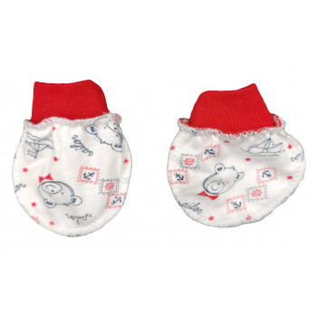 Царапки Модель 09622 Начес для новорожденных