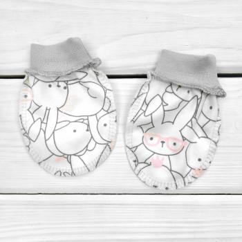 Царапки Интерлок для новорожденных