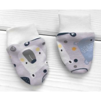 Царапки Мишка для новорожденных