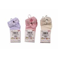 Тонкие нарядные носочки Yetis baby на девочку 0- 6-12 месяцев