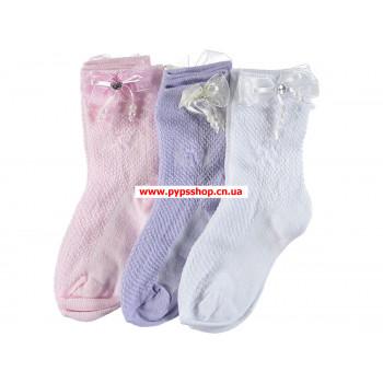 Тонкие нарядные носочки на девочку 3-4 лет
