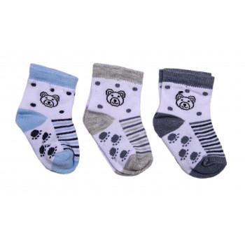 Тонкие носки Мишки для новорожденных мальчиков