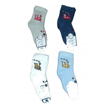 Теплые носки Паравозик для мальчиков 2-3 годика