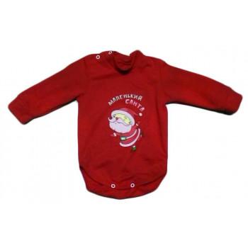 Теплый детский бодик на Новый Год для малышей