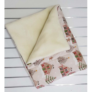 Теплое детское одеяло на шерсти 110*140 см