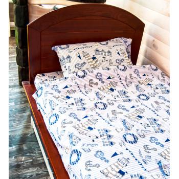 """Одеяло и подушка """"Море"""""""