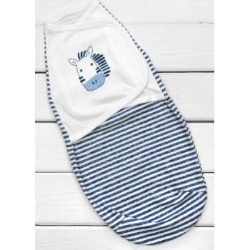 Пеленка кокон на липучках новорожденному мальчику