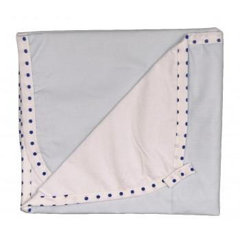 Пеленка голубого цвета непромокаемая 50*70 и 60*80 см размер