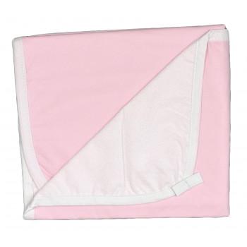 Пеленка розовая непромокаемая 60*80 см размер