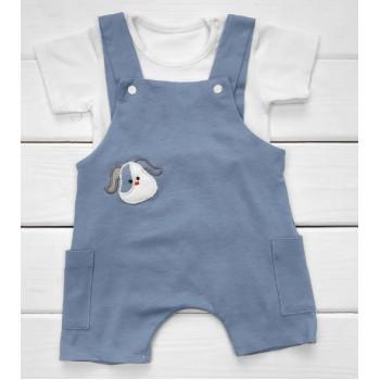 Песочник + футболка 68 размера Интерлок для мальчика
