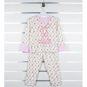 Детская интерлок пижама 110 размеры на возраст 4 5 6 лет