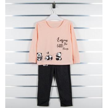 Пижама летняя 98 110 размеры на девочку 3 4 5 6 лет