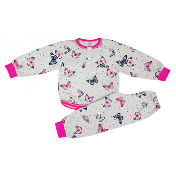 Детская летняя пижама с бабочками 92 (2 года) 98 (3 года) размеры