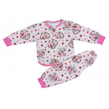 Теплая пижама 104 размеры на девочку