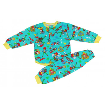 Детская байковая пижама 92 98 104 размеры для мальчиков Бейблейд