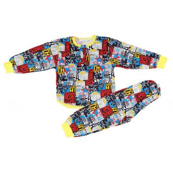 Пижама детская летняя для мальчика Размеры 92 98 104 Бруклин