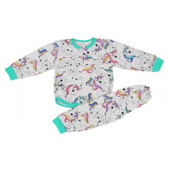 Летняя пижама 92 размера Единорог детская на 2 3 года