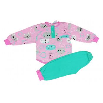 Байковая пижама 92 104 размеры для девочек 2 3 4 5 лет