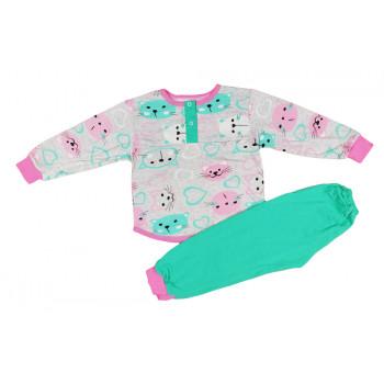Теплая пижама 98 104 размеры на девочку 3 4 5 лет