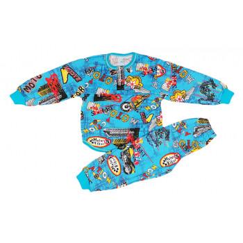 Детская летняя пижама для мальчиков Размеры 92 98 104