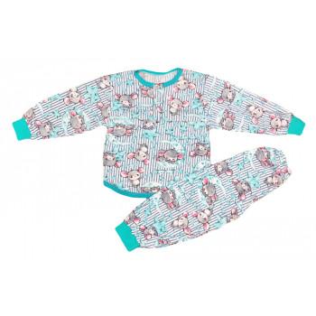 Летняя пижама на мальчика. Размеры 92 98 104 Мышки