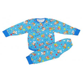 Пижама летняя для мальчиков 92 104 размеры Ткань кулир Пчелка