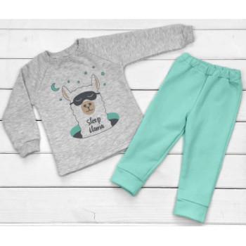 Детская ткань футер пижама 92 122 размеры на возраст 1.5-2, 7 лет