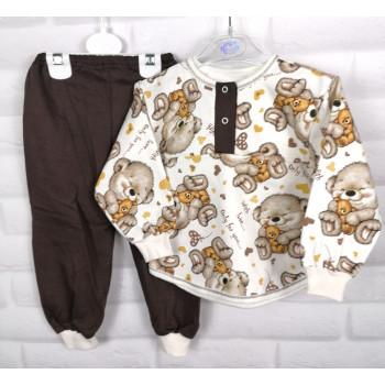 Детская теплая пижама 92 размера