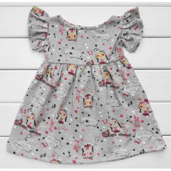 Детское платье Девочка Кулир 122 размеры