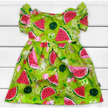 Детское летнее платье Арбузик Кулир 98 110 размеры