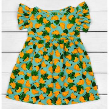 Сарафан Бананы Кулир 98 110 122 размеры для девочек