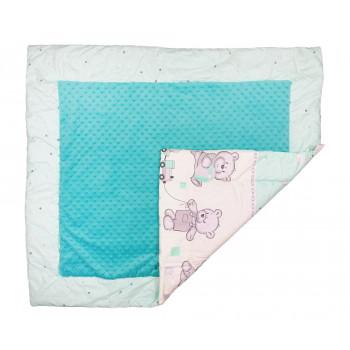 Плед Плюш Мишка для новорожденных 90*100 см