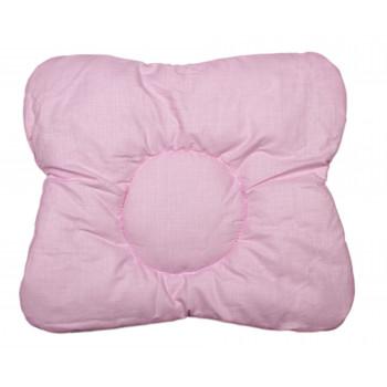 Детская ортопедическая Розовая подушка 32*34 см