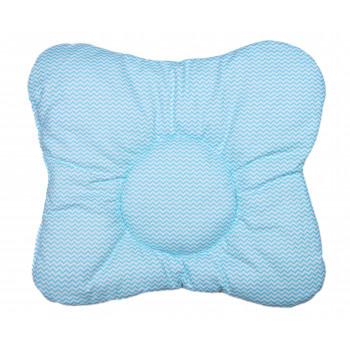 Детская ортопедическая Мятная подушка 32*34 см