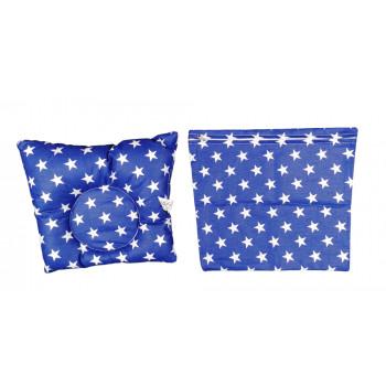 Ортопедическая подушка 25*30 см с наволочкой на молнии для новорожденных