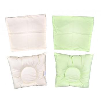 Цветные подушки ортопедические с наволочкой на молнии 25*30 см младенцам