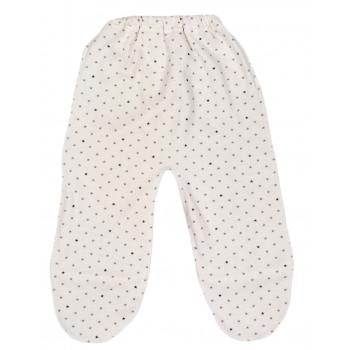 Байковые молочные ползунки 62 68 размеры для малышей