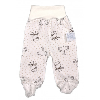 Теплые (ткань начес) ползунки унисекс для малышей с рождения и до года
