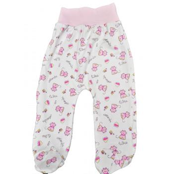 Ползунки на девочку 3-6 месяцев (ткань интерлок) Друзья