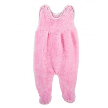 Ползунки Розовые Велсофт 56 68 74 размеры на девочку от 0 до года