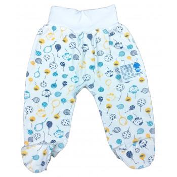 Ползунки 56 62 размера из футера для новорожденного мальчика