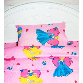 """Детское постельное белье для новорожденной девочке """"Дюймовочка"""""""