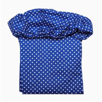 Простынь на резинке Синяя 120*60 см Бязь