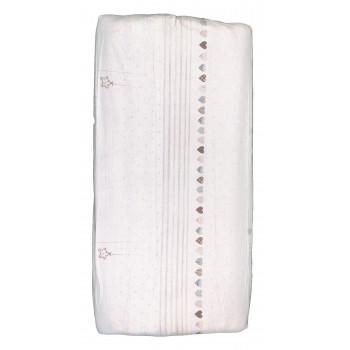 Простынь из бязи 120*60 см на резинке в детскую кроватку