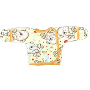 Теплые распашонки из байки 56 размеры для новорожденных