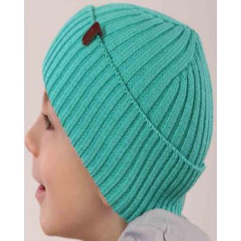 Детская демисезонная шапочка на возраст 1-2 года