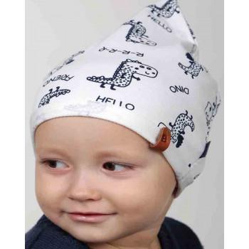 Детская трикотажная шапочка 44-46 см обхват